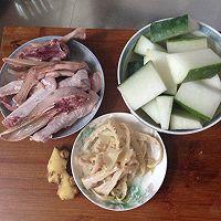 秋天全家汤水~冬瓜老鸭汤的做法图解1