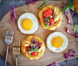 低卡轻食健康减肥-藜麦南瓜沙拉的做法