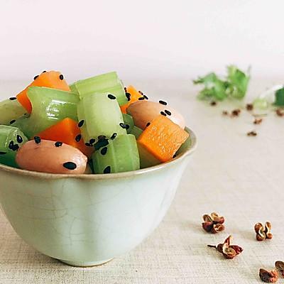 花椒油炝芹菜