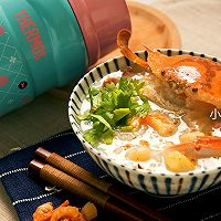 潮汕鲜甜蟹粥#膳魔师南甜主题月#