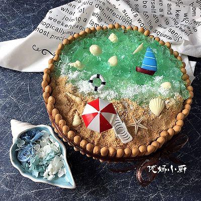 蓝色海洋轻乳酪蛋糕