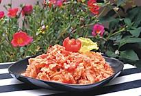 番茄炒冻豆腐的做法