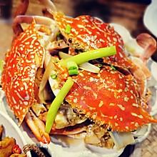 #中秋团圆食味#姜醋炒花蟹