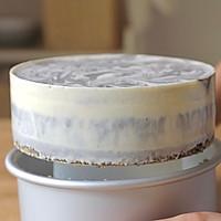 【视频】大理石纹 免烤黑芝麻慕斯蛋糕的做法图解14