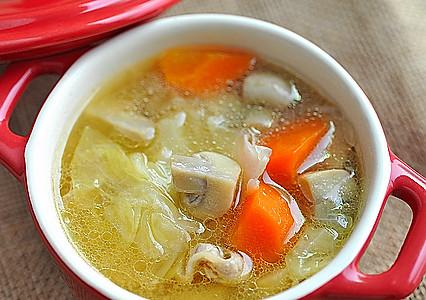 味噌炖杂菜汤的做法
