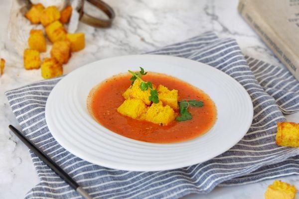 西班牙番茄冷汤的做法