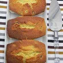 酒渍果干磅蛋糕