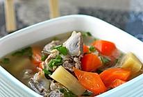 甘蔗红萝卜猪骨汤的做法