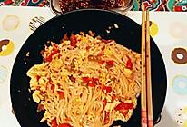 番茄西红柿鸡蛋打卤面臊子面的做法