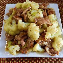 猪板筋炒椰菜花