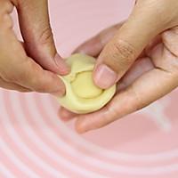 【番茄自制美食】一颗颗金黄的中式小点精灵——蛋黄酥的做法图解9