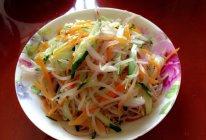 凉拌豆芽黄瓜的做法