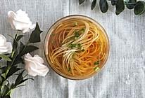#花10分钟,做一道菜!#阳春面的做法