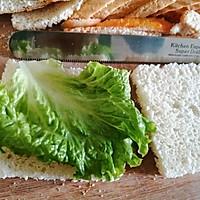 #夏日消暑,非它莫属#早餐三明治的做法图解4