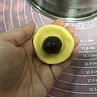 #晒出你的团圆大餐# 小南瓜包(紫薯馅)的做法图解5