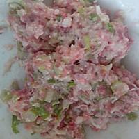 脆皮小馅饼  大葱猪肉馅,白菜胡萝卜猪肉馅,西葫芦猪肉馅的做法图解4
