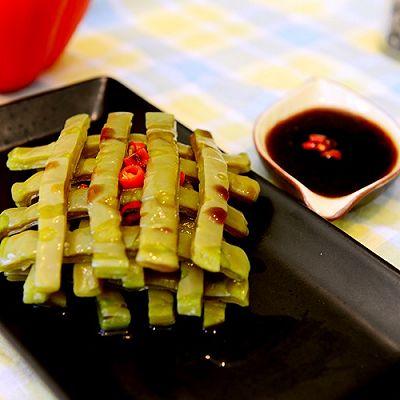 自创菜-凉拌仙人掌(清热解毒)