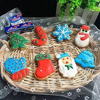 圣诞糖霜饼干#安佳烘培学院