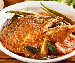 【咖喱三文鱼头】这样烧鱼头,有看头、有吃头!的做法