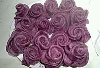 紫薯花形馒头的做法