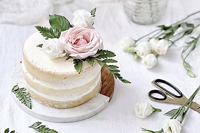#童年不同样,美食有花样#鲜花裸蛋糕