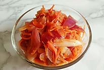 洋葱胡萝卜的做法