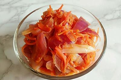 洋葱胡萝卜