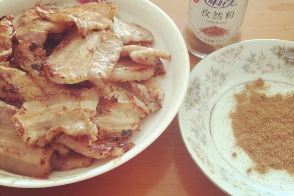 大喜大牛肉粉试用报告——香烤五花肉的做法