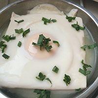 豆腐蒸蛋的做法图解3