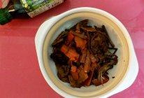 之干锅茶树菇#豆果菁选酱油试用#的做法