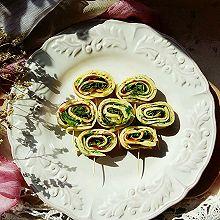 葱香蔬菜卷饼#厨此之外,锦享美味#