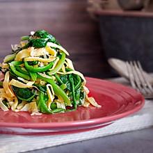 黄金虾皮拌菠菜
