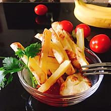 自制-健康不上火-无油炸薯条