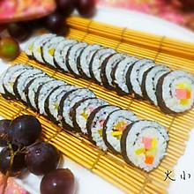 【紫菜包饭】正宗韩式基础版寿司