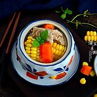 砂锅玉米排骨汤