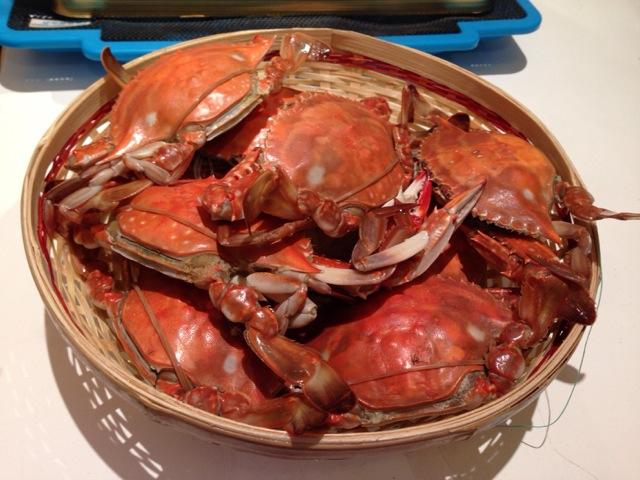 清蒸螃蟹的做法图解1