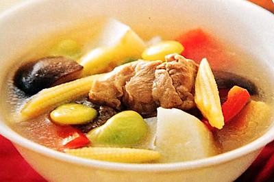 五色菜蔬汤