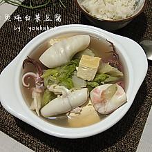 笔管鱼炖白菜豆腐--冬季暖身