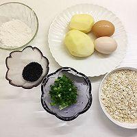 鸡蛋燕麦土豆饼#嘉宝笑容厨房#的做法图解1