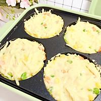 时蔬土豆饼10M+ 快手早餐约一下的做法图解4