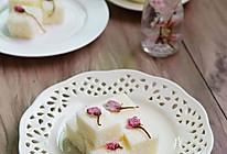 樱花椰奶糕#浪漫樱花季#的做法