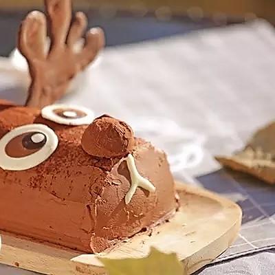 【圣诞款】驯鹿蛋糕卷