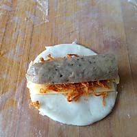 芝士牛肉肠卷的做法图解7