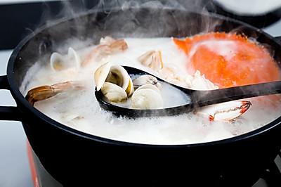 海鲜粥底火锅