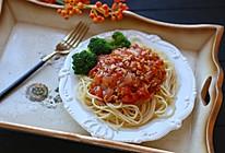 番茄肉酱意大利面#美的女王节#的做法