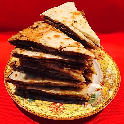 老北京芝麻醬糖餅