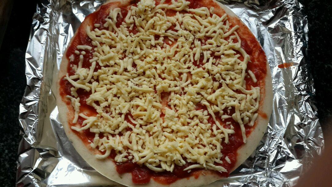 创意披萨的做法图解