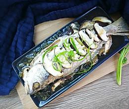 雪菜香菇蒸黄鱼#单挑夏天#的做法