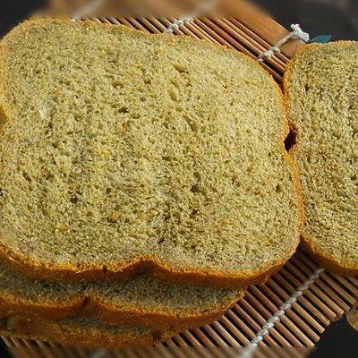 抹茶吐司-面包机版-彩色吐司之绿色抹茶吐司