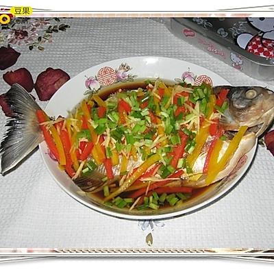 清蒸红鲳鱼